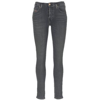 Abbigliamento Donna Jeans slim Diesel BABHILA Grigio