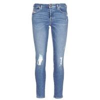 Abbigliamento Donna Jeans slim Diesel BABHILA Blu
