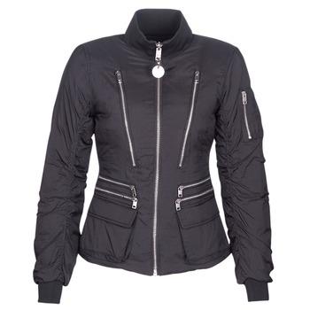 Abbigliamento Donna Piumini Diesel W-BLANKYT Nero