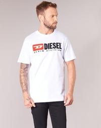 Abbigliamento Uomo T-shirt maniche corte Diesel T JUST DIVISION Bianco