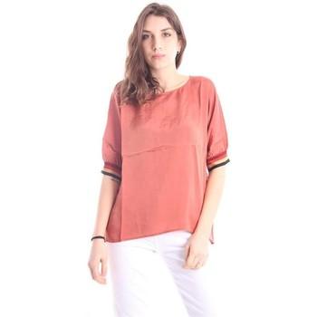 Abbigliamento Donna T-shirt maniche corte Solo Tre CASACCA GIROCOLLO Orange