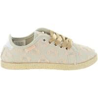 Scarpe Bambina Sneakers Lois Jeans 60070 Beige