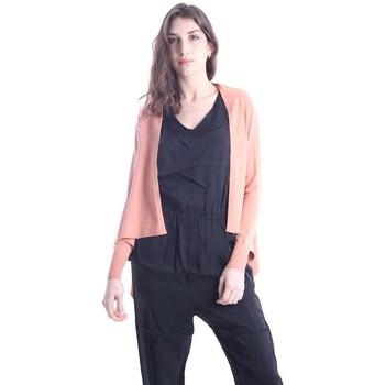 Abbigliamento Donna Gilet / Cardigan Solotre CARDIGAN ROSA Pink
