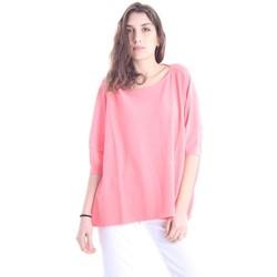 Abbigliamento Donna Top / Blusa Solotre MAGLIA OVER ROSA Pink