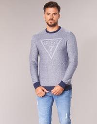 Abbigliamento Uomo Maglioni Guess TAMAC Blu