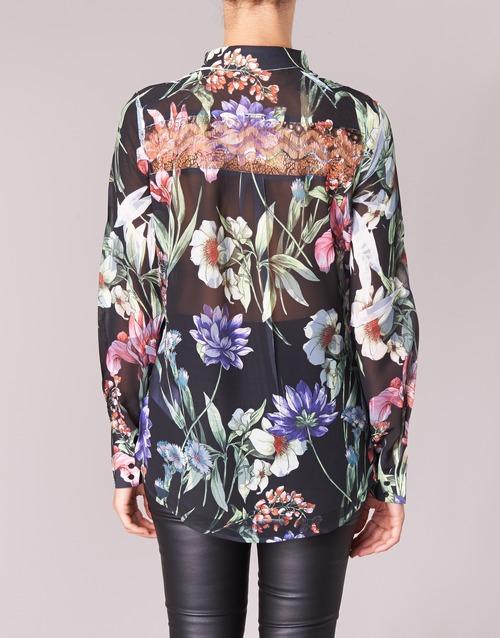 Donna Camicie NeroMulticolore 4000 Clouis Consegna Gratuita Guess Abbigliamento 0OPnwk