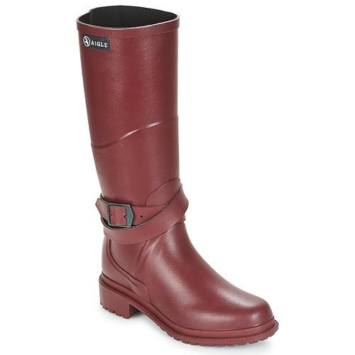 Aigle MACADAMES Bordeaux  Scarpe Stivali da pioggia Donna 81