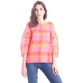 Abbigliamento Donna T-shirt & Polo Le Sarte Pettegole T-SHIRT CON MANICHE COULISSE Multicoloured