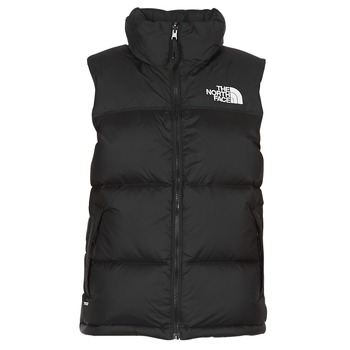 Abbigliamento Donna Piumini The North Face NUPTSE VEST Nero