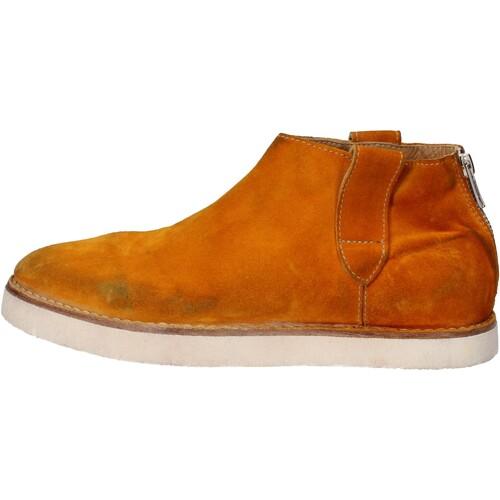 Moma scarpe donna stivaletti giallo camoscio AE995 Giallo Scarpe Stivaletti Donna 164,00