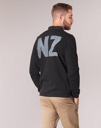 Abbigliamento Uomo Polo maniche lunghe Serge Blanco POLO NEW ZEALAND Nero