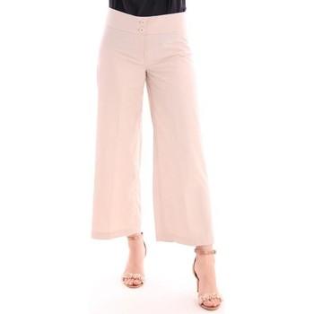 Abbigliamento Donna Pantaloni morbidi / Pantaloni alla zuava Aspesi PANTALONI AMPI  IN COTONE BEIGE Beige