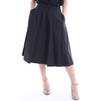 Abbigliamento Donna Gonne Aspesi GONNA SVASATA IN COTONE NERO Black