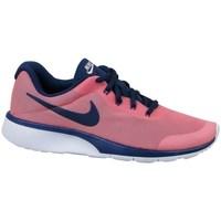 Scarpe Unisex bambino Sneakers basse Nike Tanjun Racer GS Rosa