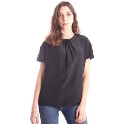Abbigliamento Donna T-shirt maniche corte Aspesi CASACCA IN SETA NERA Black