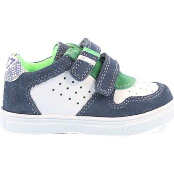 Scarpe Bambino Sneakers basse Asso 236 - 61523A Scarpa Strappi Bambino Azzurro Azzurro