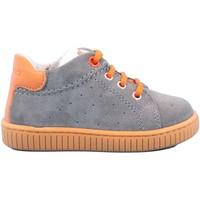 Scarpe Bambino Sneakers basse Balducci 185 - CI102LA Scarpa Allacciata Bambino Grigio Grigio