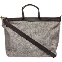 Borse Donna Tote bag / Borsa shopping Borbonese BORSA A MANO LARGE Marrone