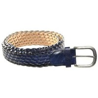 Accessori Uomo Cinture Made In Italy CINTURA  168 BLU Blu
