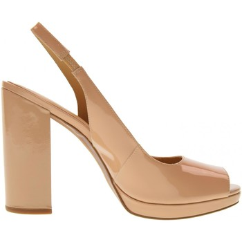 Scarpe Donna Sandali MICHAEL Michael Kors donna sandali open toe 40S8ERHG1A ERIKA SLING BLUSH Pelle