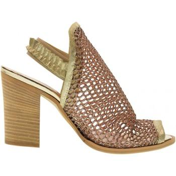 Scarpe Donna Sandali Erman's scarpe donna sandalo 145 ORO Oro