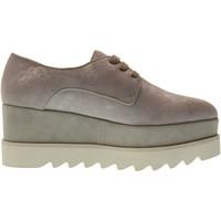 Scarpe Donna Sneakers basse Altraofficina scarpe donna sneakers con piattaforma Q1700X GHIACCIO Pelle