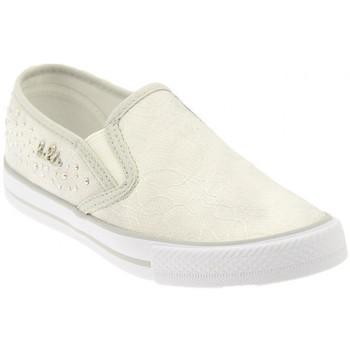 Scarpe Unisex bambino Slip on Lulu GLORIASneakers bianco