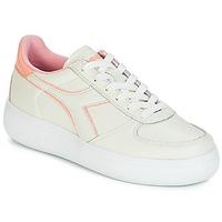 Scarpe Donna Sneakers basse Diadora B.ELITE L WIDE WN Ecru / Rosa
