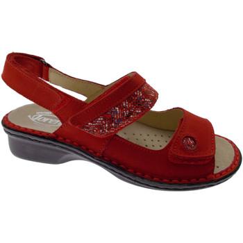 Scarpe Donna Sandali Loren LOM2716ro rosso