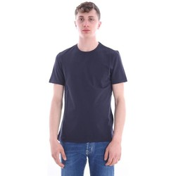 Abbigliamento Uomo T-shirt maniche corte Girelli Bruni T-SHIRT BLU Blue