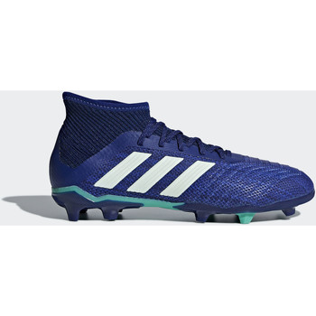 Scarpe Bambino Sneakers adidas Performance Scarpe da calcio Predator 18.1 Firm Ground Blu / Turchese