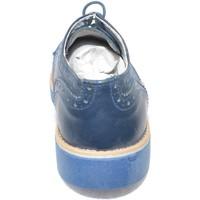 Scarpe Uomo Derby Made In Italia Scarpe uomo stringata vera pelle microforata blu BLU