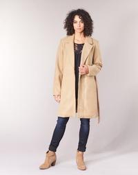 Abbigliamento Donna Cappotti Vila VILUS Camel