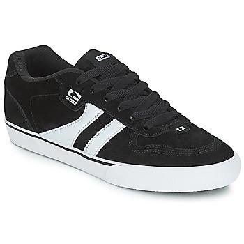 Scarpe Uomo Sneakers basse Globe ENCORE 2 Nero / Bianco