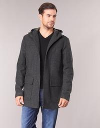 Abbigliamento Uomo Cappotti Sisley FEDVUN Grigio