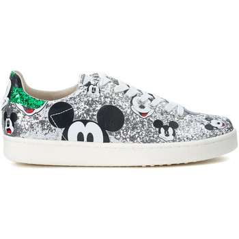 Scarpe Donna Sneakers basse Moa - Master Of Arts Sneaker MoA Micky Mouse in glitter argento Argento