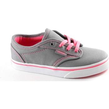 Scarpe Bambino Sneakers basse Vans MILTON SEGATP grey pink scarpe bambina ragazza sneakers tessuto Grigio