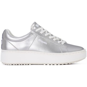 Scarpe Donna Sneakers basse Blauer Smell Argento