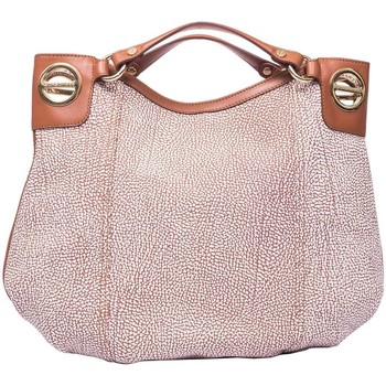 Borse Donna Borse a mano Borbonese BORSA LONDON MEDIA Beige