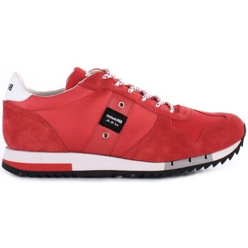Scarpe Uomo Sneakers basse Blauer 8SQUINCY01/NYL SNEAKERS Uomo ROSSO ROSSO