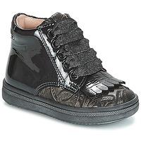 Scarpe Bambina Sneakers alte Acebo's DOLAGIRI Nero / Argento