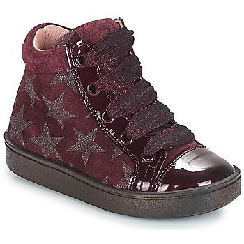 Scarpe Bambina Sneakers alte Acebo's MASSA Bordeaux