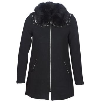 Abbigliamento Donna Cappotti Desigual COLLINE Nero