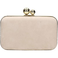 Borse Donna Pochette / Borselli Velvet Collection SPOOKY Pochette Donna Beige Beige