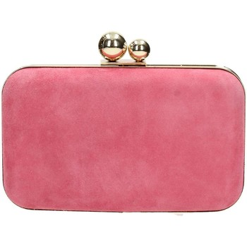 Borse Donna Pochette / Borselli Velvet Collection SPOOKY Pochette Donna Corallo Corallo