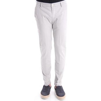 Abbigliamento Uomo Pantaloni Yan Simmon PANTALONI IN RASO GRIGIO Grey