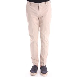Abbigliamento Uomo Pantaloni Yan Simmon PANTALONI IN RASO BEIGE Beige