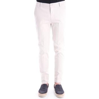 Abbigliamento Uomo Pantaloni Yan Simmon PANTALONI IN RASO White