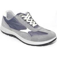 Scarpe Uomo Sneakers Light Step Grisport Scarpe antishock antistatica active camoscio fondo ultraleggero GRIGIO