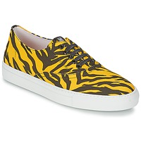 Scarpe Donna Sneakers basse Moschino Cheap & CHIC LIBORIA Giallo / Nero